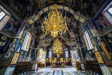 Un monastère roumain