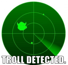 troll spotted